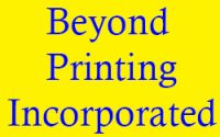 Beyond Printing Incorporated hours