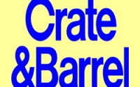 Crate & Barrel hours